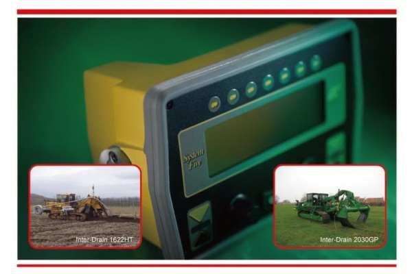 topcon machine control for trencher and plow